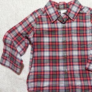 Carters boys shirt size 9M